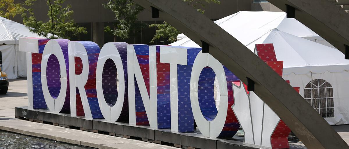 Photo of Toronto signage